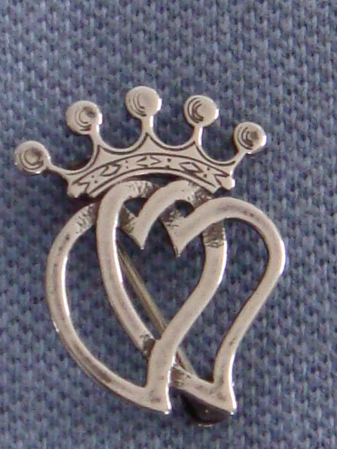 Ola Gorie Sterling Silver Luckenbooth Brooch Traditional